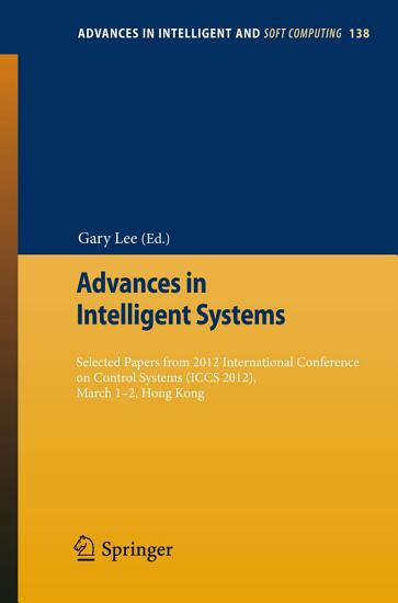 Advances in Intelligent Systems PDF