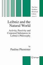 Leibniz and the Natural World PDF