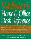Webster s Home   Office Desk Reference PDF