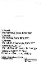 Copyright  Congress  and Technology  CONTU   the future of information technology PDF
