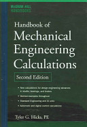 Handbook of Mechanical Engineering Calculations  Second Edition PDF