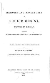 Memoirs and Adventures of Felice Orsini