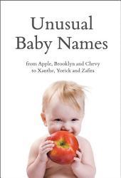 Unusual Baby Names PDF