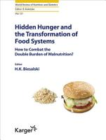 Hidden Hunger and the Transformation of Food Systems PDF