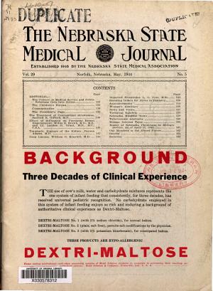 The Nebraska State Medical Journal PDF