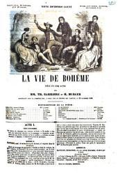 La vie de Bohême pièce en cinq actes par Th. Barrière et H. Murger