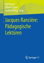 Jacques Ranci  re  P  dagogische Lekt  ren PDF
