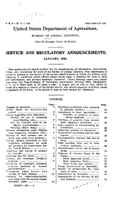 Service and Regulatory Announcements: Issues 153-224