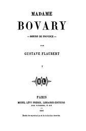 Madame Bovary: Première partie