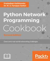 Python Network Programming Cookbook PDF
