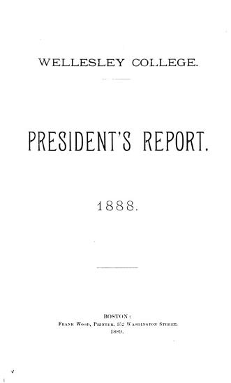 Annual Reports  of  President and Treasurer PDF