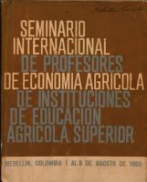 Instituto Interamericano de Ciencias Agricolas de la OEA Direccion Regional de la Zona Andina Programa de Educacion Agriccla Superior PDF