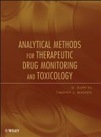 Analytical Methods for Therapeutic Drug Monitoring and Toxicology PDF