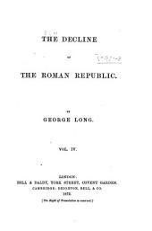 The Decline of the Roman Republic: Volume 4