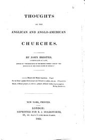 Thought, on the Anglican and Anglo-American Churches