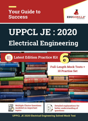 UPPCL JE Electrical Engineering 2020   6 Full length Mock Tests   10 Practice Tests   Gorilla Series