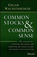 Common Stocks and Common Sense PDF