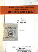 Machines and energy