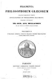 Fragmenta Philosophorum Graecorum