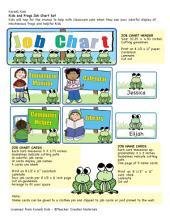 Jobs Chart Bulletin Board Set by Karen's Kids