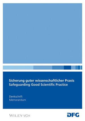 Safeguarding Good Scientific Practice PDF