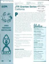 JTR (Jobs Through Recycling), Grantee Series California, April 1999
