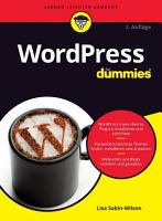 WordPress f  r Dummies PDF
