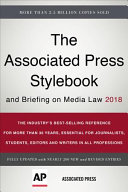 Download The Associated Press Stylebook 2018 Book