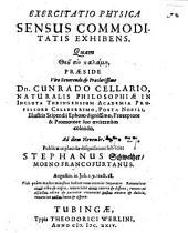 Exercitatio phys. sensus commoditatis exhibens