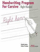 Paf Handwriting Program for Cursive PDF