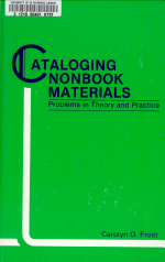 Cataloging Nonbook Materials