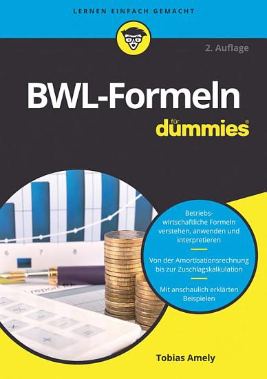 BWL Formeln f  r Dummies PDF