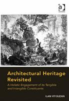 Architectural Heritage Revisited PDF