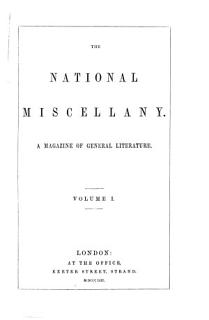 The National Miscellany Book