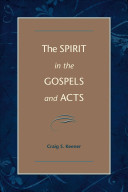 The Spirit in the Gospels and Acts PDF