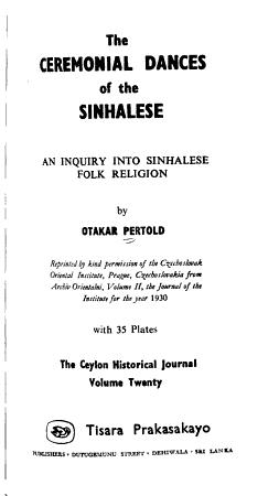 The Ceylon Historical Journal PDF
