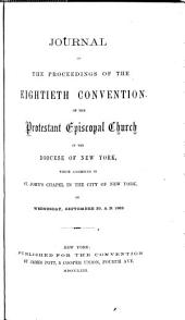 Journal of the Proceedings of the Annual Convention of the Protestant Episcopal Church in [of] the State of New York: Volume 80