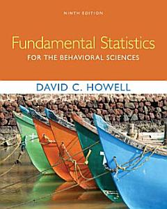 Fundamental Statistics for the Behavioral Sciences Book
