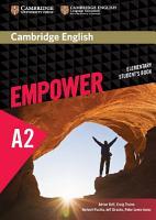 Cambridge English Empower Elementary Student s Book PDF