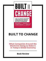 Built to Change  Book Review PDF