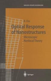 Optical Response of Nanostructures: Microscopic Nonlocal Theory
