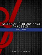 American Performance V-8 Specs: 1963-1974 (Second Edition)