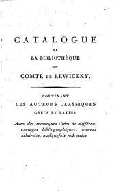 Bibliotheca Graeca et Latina: Complectens auctores fere omnes Graeciae et Latii veteris ... quas usui meo paravi Periergus Deltophilus
