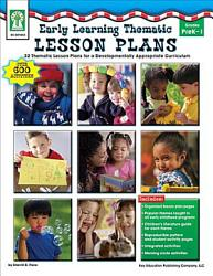 Early Learning Thematic Lesson Plans Grades Pk 1 Book PDF