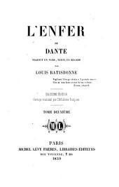 L'Enfer du Dante: Volume2