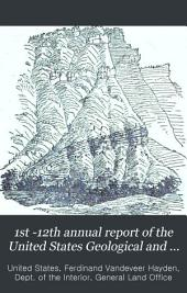Annual Report of the United States Geological and Geographical Survey of the Territories ...: Volume 5, Part 1871