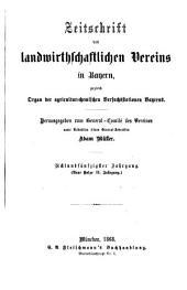 Zeitschrift des Landwirthschaftlichen Vereins in Bayern: zugl. Organ d. Agrikultur-Chemischen Versuchsstationen Bayerns, Band 58