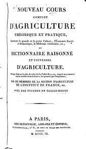 Dictionnaire raisonné et universel d'agriculture