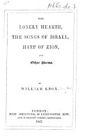 The Lonely Hearth  The Songs of Israel  Harp of Zion  and Other Poems PDF