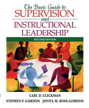 The Basic Guide To Supervision And Instructional Leadership Book PDF